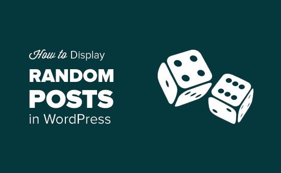[WordPress] Hướng dẫn lấy bài viết ngẫu nhiên trong WordPress