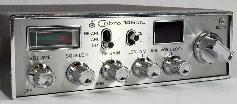 RD15026 Vintage Cobra 146 GTL AM SSB CB Radio DSC07757