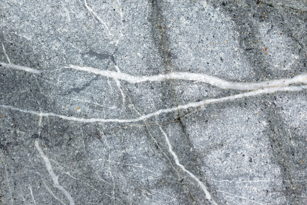 Close-up of patterns in a rock on Enderts Beach in Jedediah Smith Redwoods State Park
