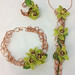 Greenery: Floral Jewelry — Photo Courtesy Sandy Schroeck, AIFD, PFCI, Trend On Design in Eden Prairie, Minnesota, http://www.trendondesign.com/
