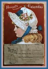 1886 Hood's Sarsaparilla Calendar