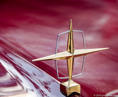 Hood Ornament - 1956 Lincoln Continental Mark II