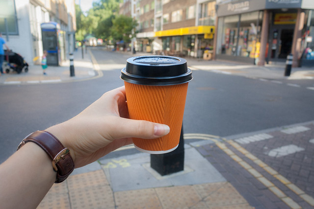 Pre-conference coffee from Knockbox Coffee, London