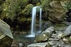 Grotto Falls, upper tier by C. B. Photography