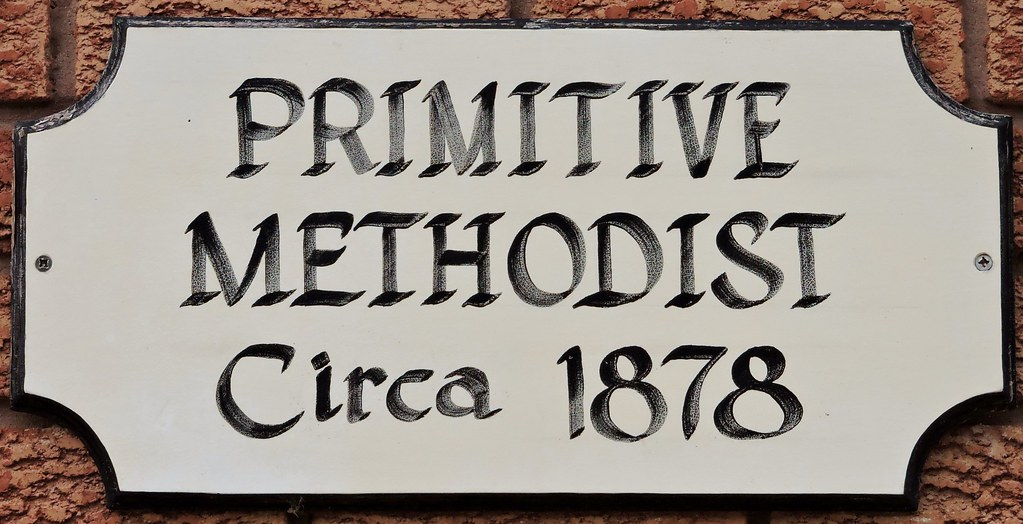 Primitive Methodist Circa 1878