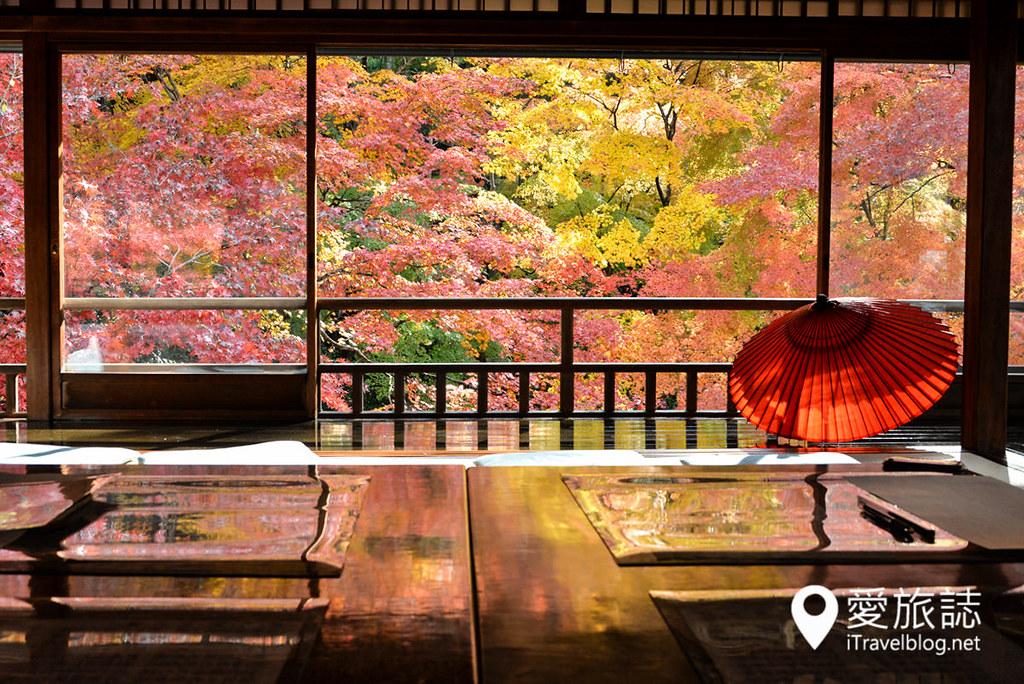 京都赏枫景点 琉璃光院 29