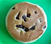 My pancake smiled at me... by Kez West
