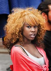 Black women Hair-style.