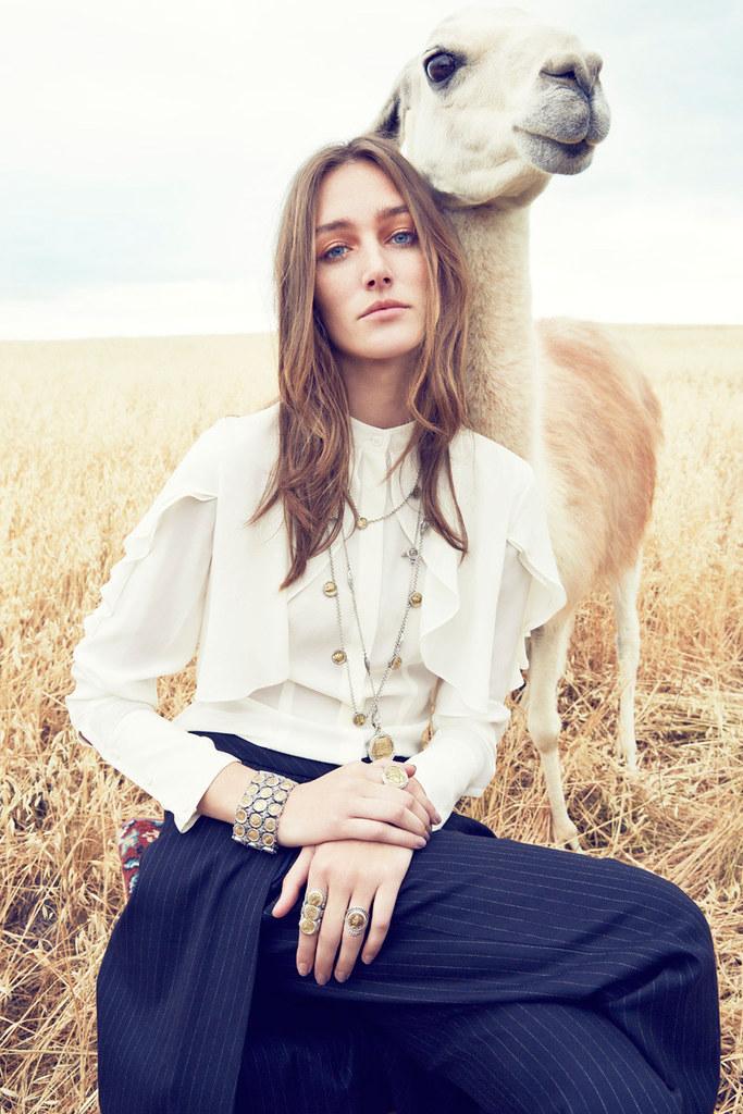 Жозефин Ле Тутур — Фотосессия для «Neiman Marcus» 2015 – 8