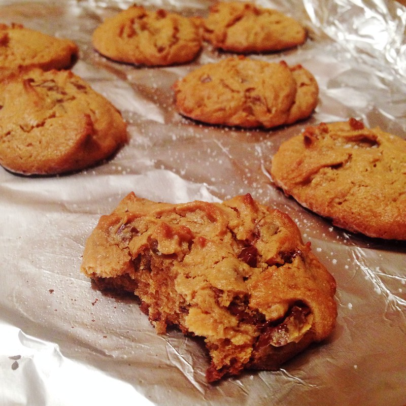 Salted peanut butter cookies (paleo)