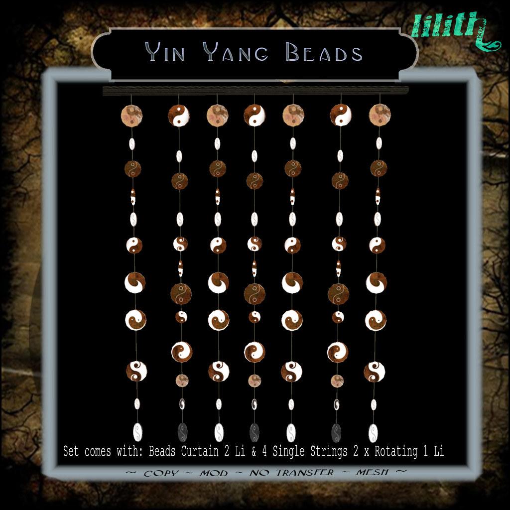 LD Yin Yang Beads
