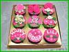 Cupcake set bunga