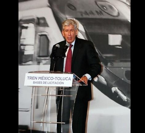 GDF construirá tramo del tren México-Toluca