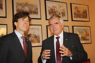 Ambassador Schapiro's Trip to Jihlava