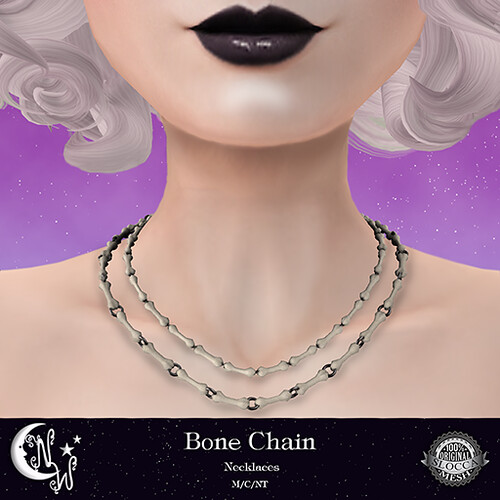 *NW* Bone Chain Necklaces