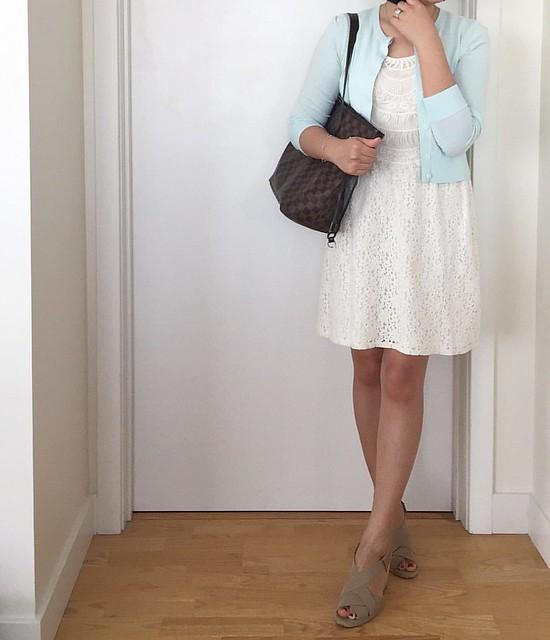 LOFT Lace Dress