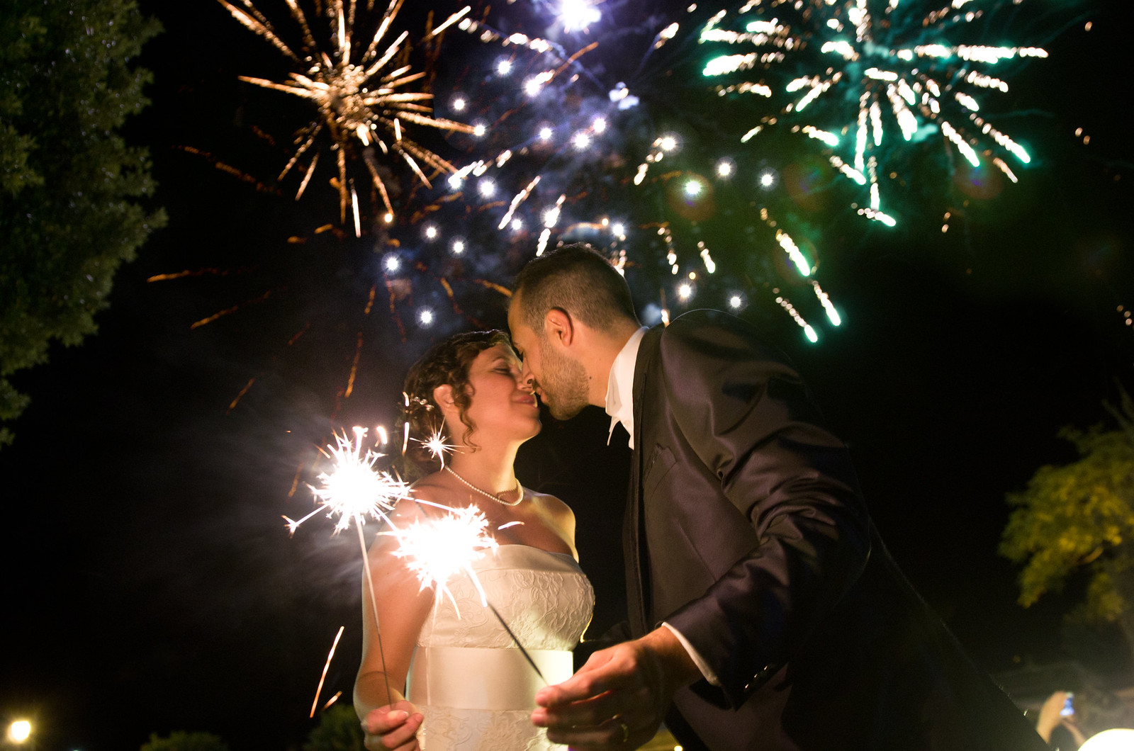 Dream Wedding Day, Dream Fireworks Display