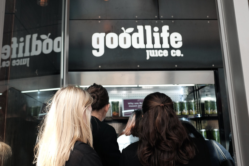 Goodlife Juice Co in Fort Street Auckland Food Blog