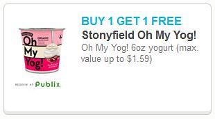 Stonyfield Oh My Yog!