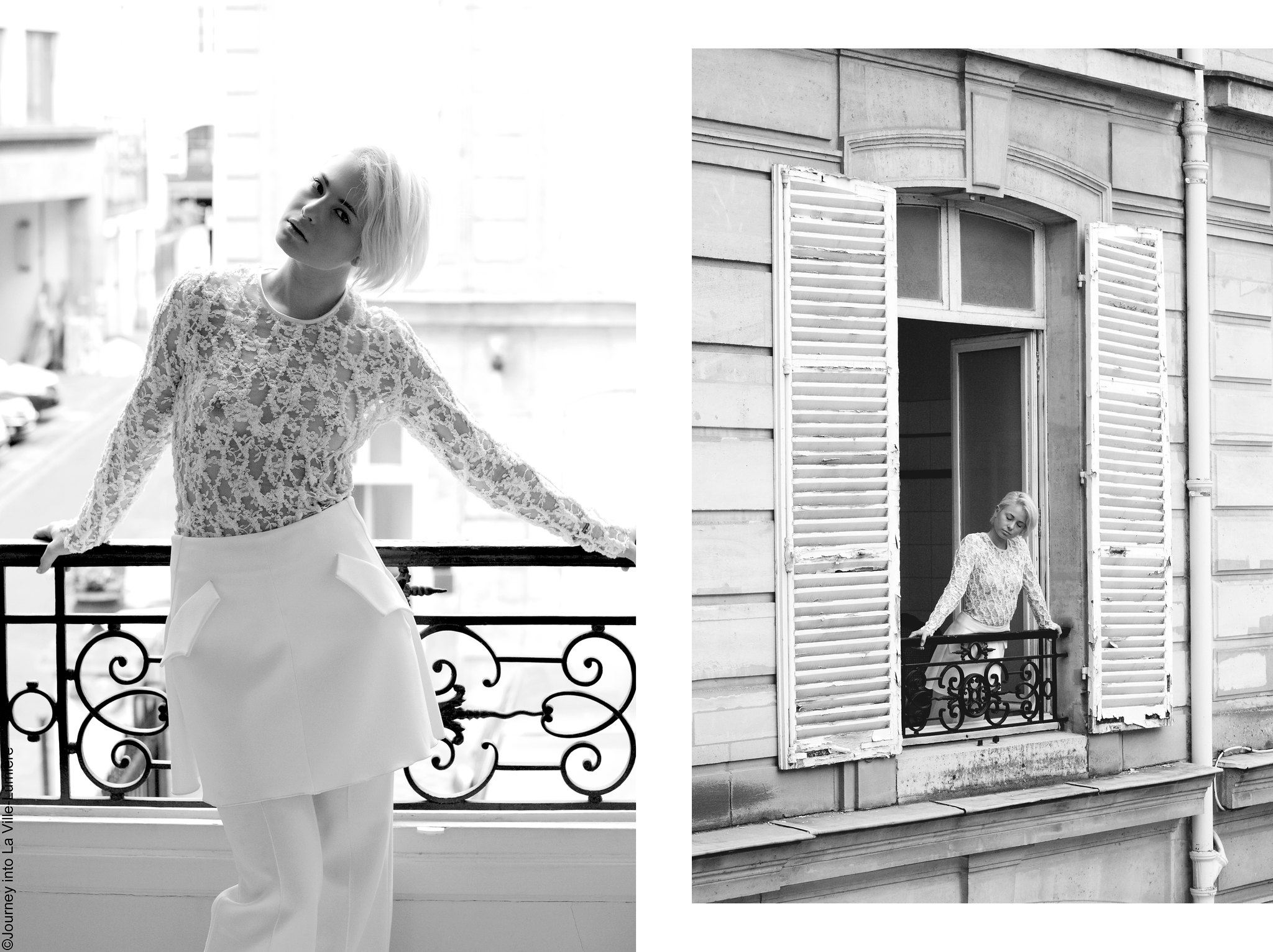 Photoshoot for ELLERY, Paris