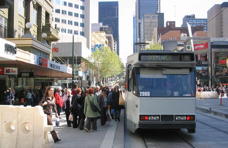 Bourke Street, Melbourne (2005)