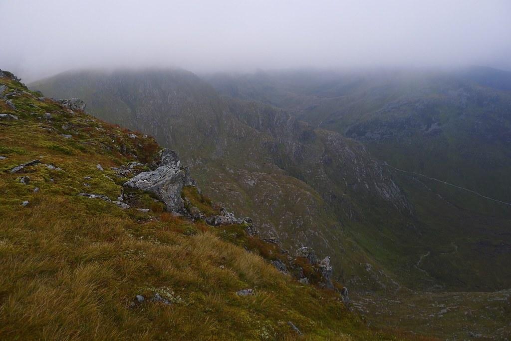 Low mist over Sgurr nan Conbhairean