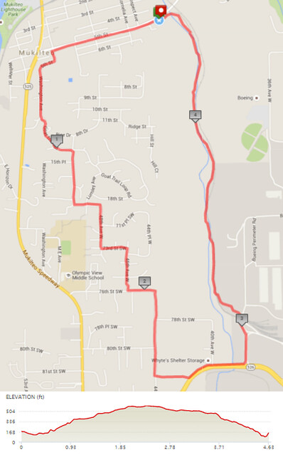 "Today""s awesome walk, 4.63 miles in 1:27, 9,959 steps, 462ft gain"