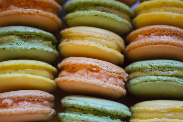 Macarons...