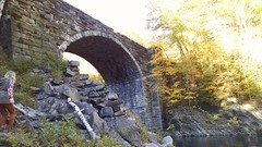 Keystone Arches trail in Chester, MA