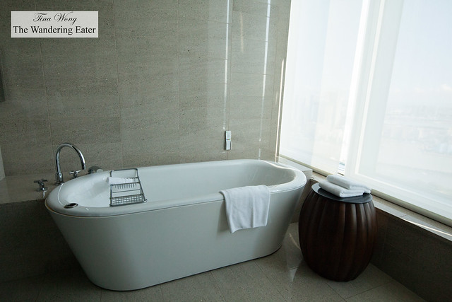 Bathtub at King Executive Suite Bay View