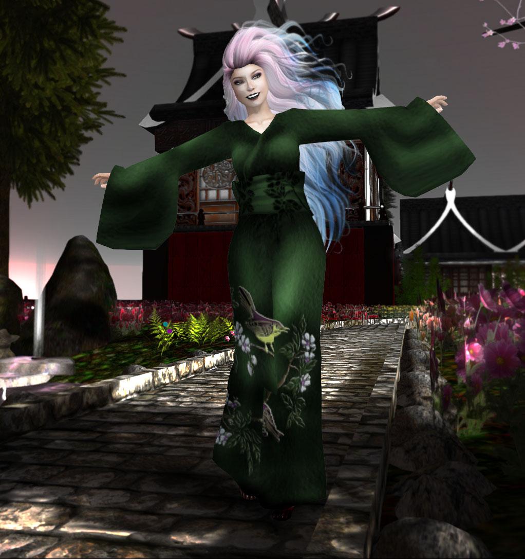 Avatar Bizarre Hibari Kimono