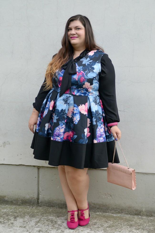 Outfit nero e fiorato (7)