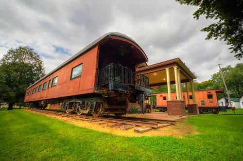 railroad train vintage rail iowa caboose trainstation panora panoraiowa panoradepot pandoraia