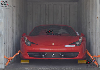 Ferrari Export Sports Luxury Exotic car shipping from Dubai UAE