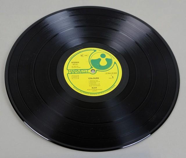 """ELOY COLOURS 12"""" LP VINYL"""
