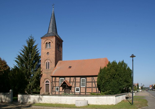Peckfitz, Dorfkirche