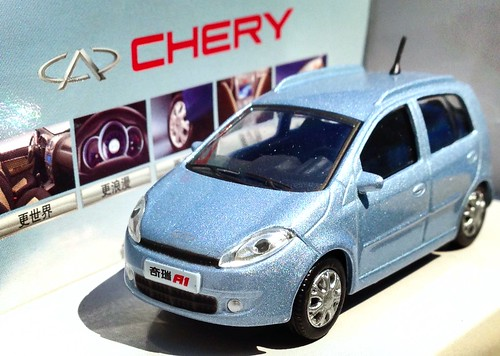 Small scale Chery A1 - Chinese Dealer promo