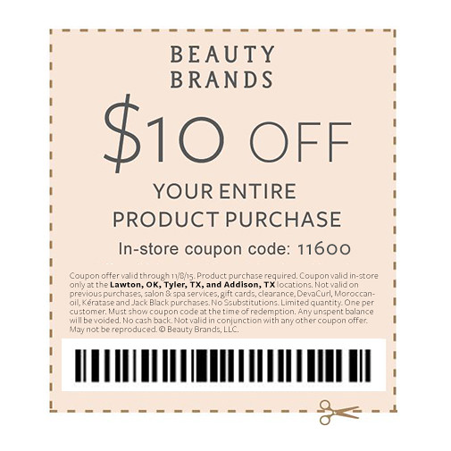 Beauty Lovers Event - Coupon
