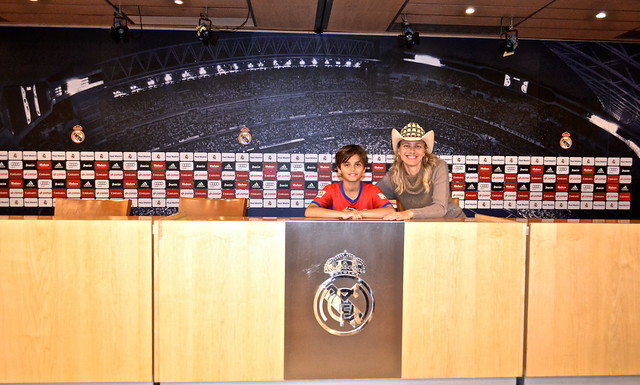 press room - Real Madrid Stadium Tour - Tour Bernabeu