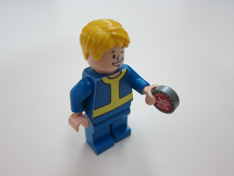 Fallout's Vault Boy Minifigure by minifiglabs.com