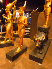 Egyptian tomb artifacts