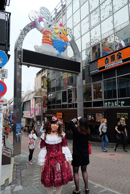 Harajuku dress up on Takeshita Street