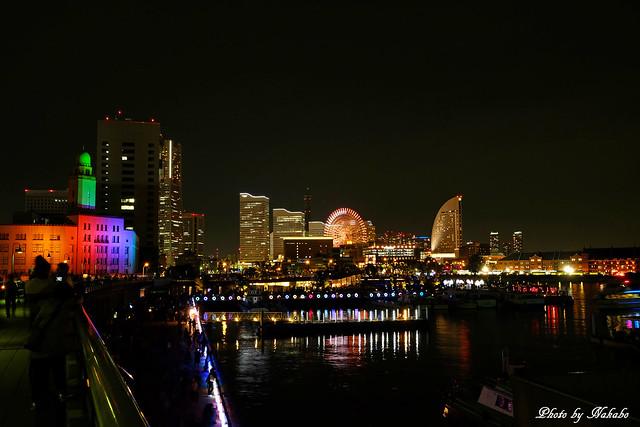 スマートイルミネーション横浜2015 by Nakabo
