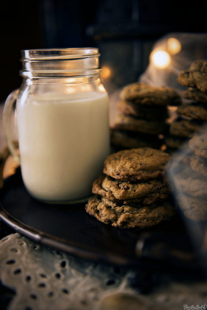 Chocolate Chip Granola Cookie Recipe | Passthesushi.com