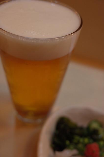 Ebisu draft beer