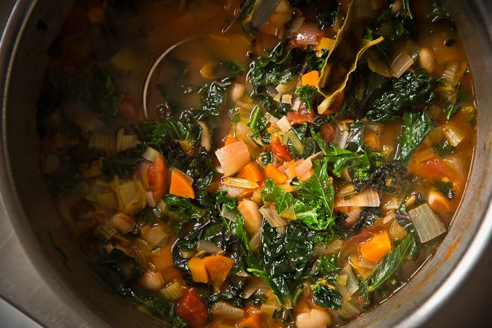 La Ribolita Vegatarian Tuscan Soup
