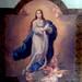 Pintura de la Inmaculada Concepción, cielo de la iglesia