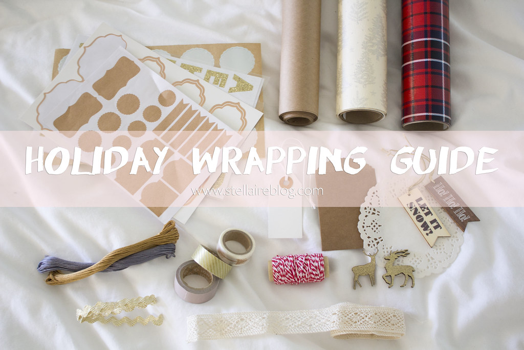 holiday wrapping guide