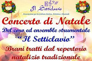 Noicattaro. Concerto Setticlavio Natale front