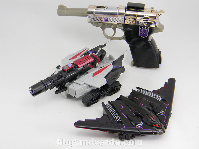 Transformers Megatronus Deluxe - Generations - modo alterno vs War for Cybertron vs G1